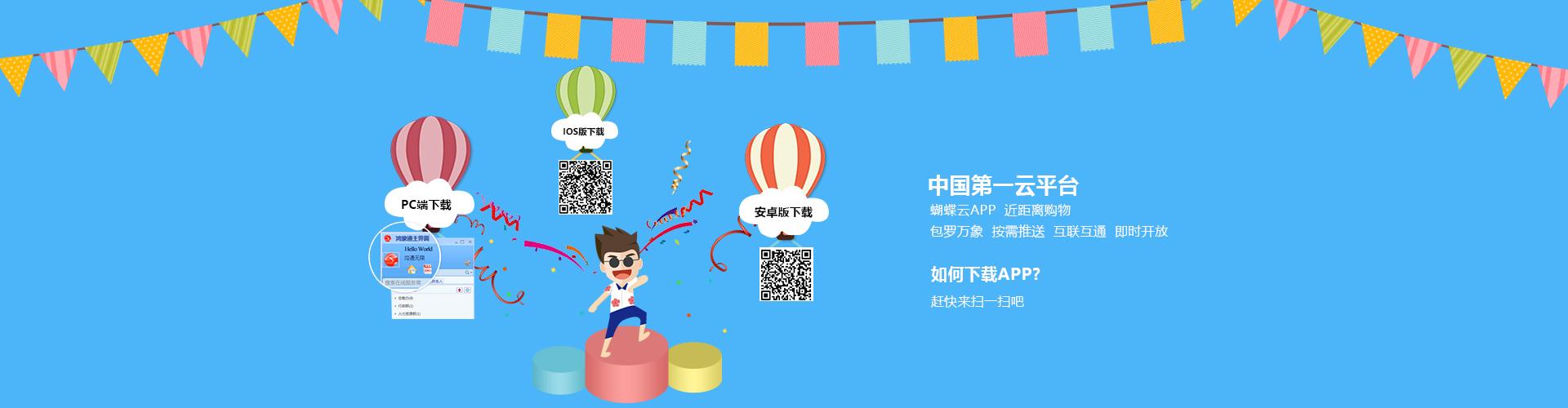 安徽云丰网络-首个云平台-蝴蝶云app